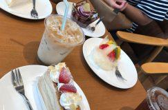 不二家 八潮店さんに行ってケーキ買ってお茶しました。