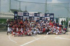 中川やしおスポーツパークの全面オープン!野球・サッカー教室を開催