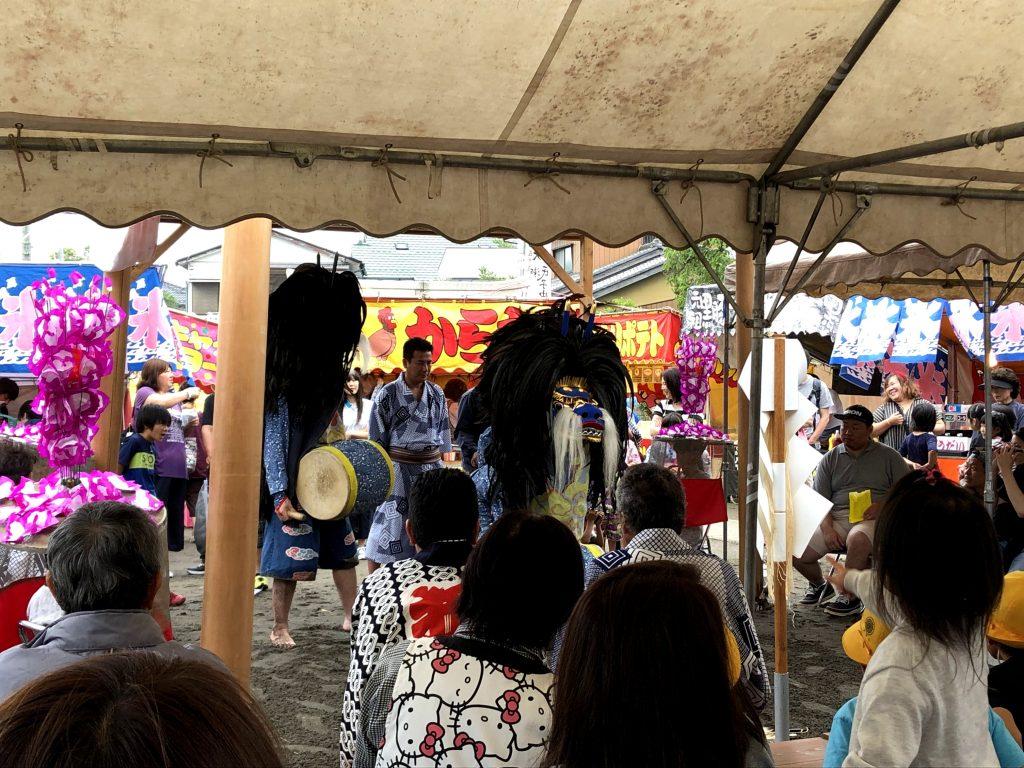 大瀬の獅子舞(八潮市の郷土の祭り)