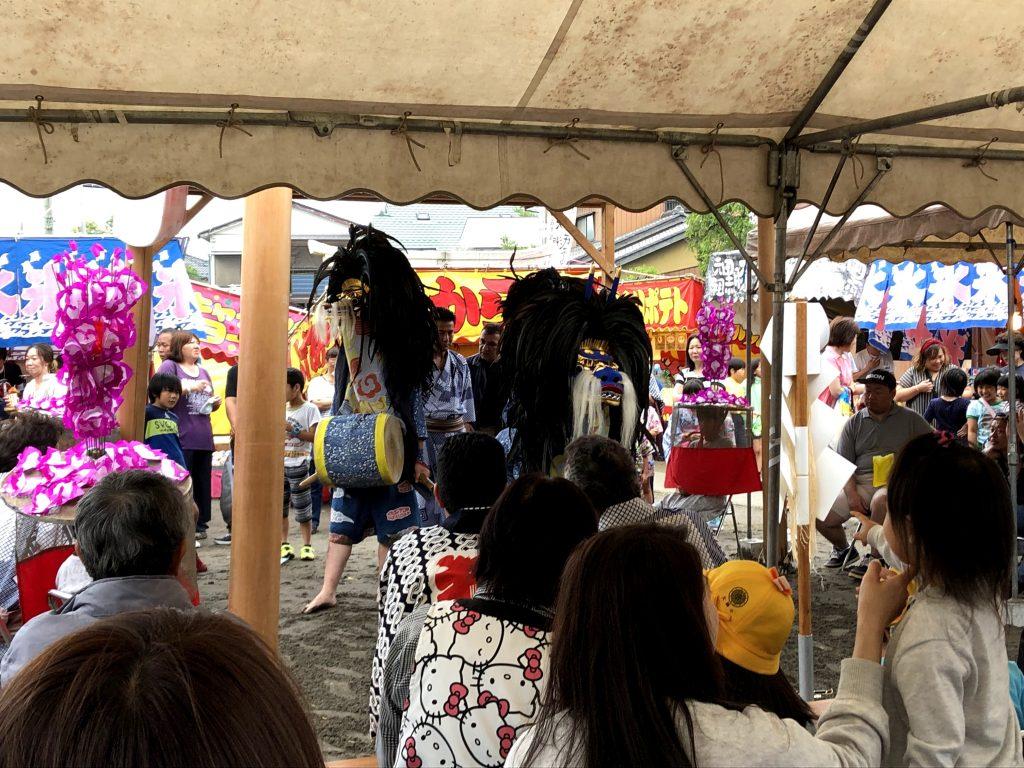 大瀬の獅子舞(八潮市の郷土のお祭り)