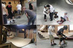 スケートボードレッスン SKATEBOARD LESSONS