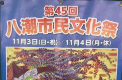 第45回八潮市民文化祭 11/3-4